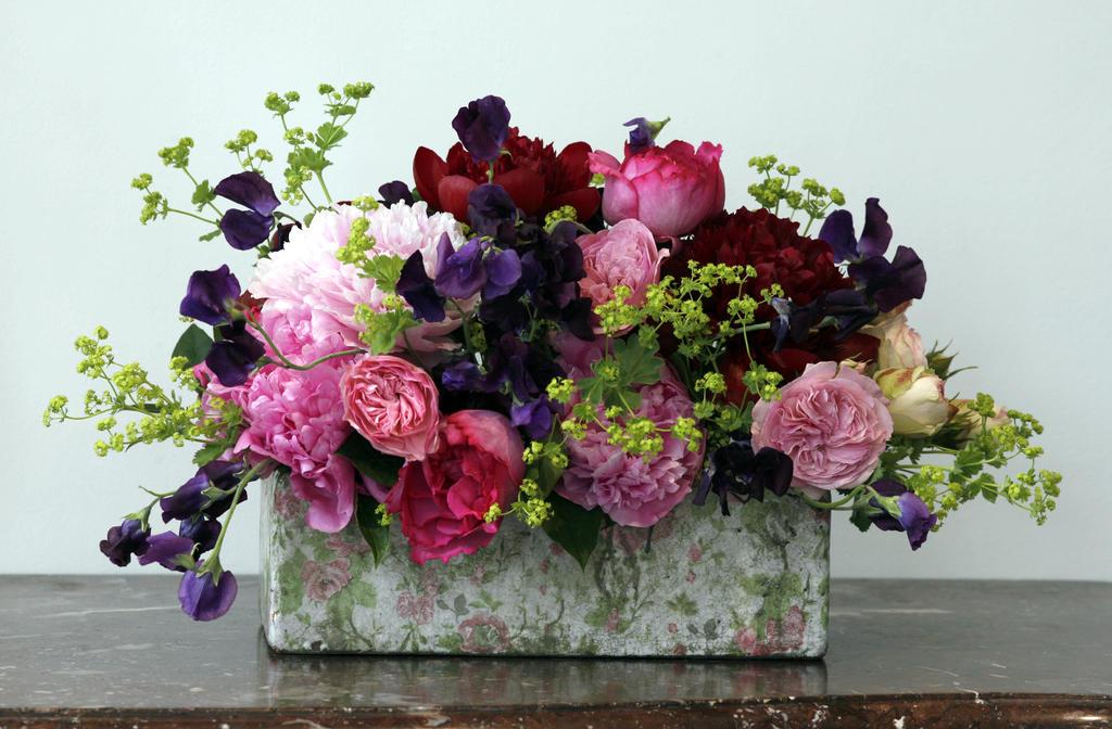 jardin anglais id es de bouquets. Black Bedroom Furniture Sets. Home Design Ideas