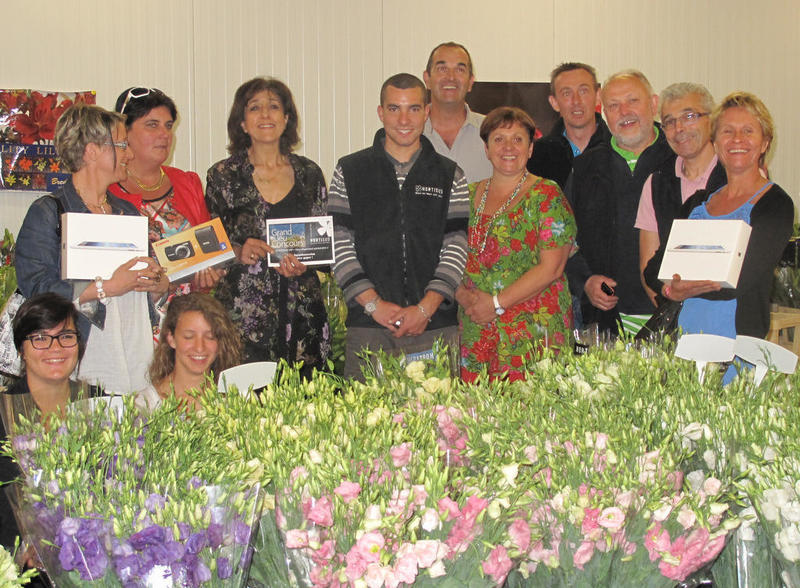 Les gagnants concours hortisud !
